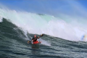 Big Wave Kayaking with Tao Berman